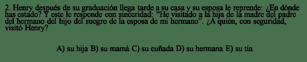 Ejercicio 2 Pre San Marcos Semana 18 - I