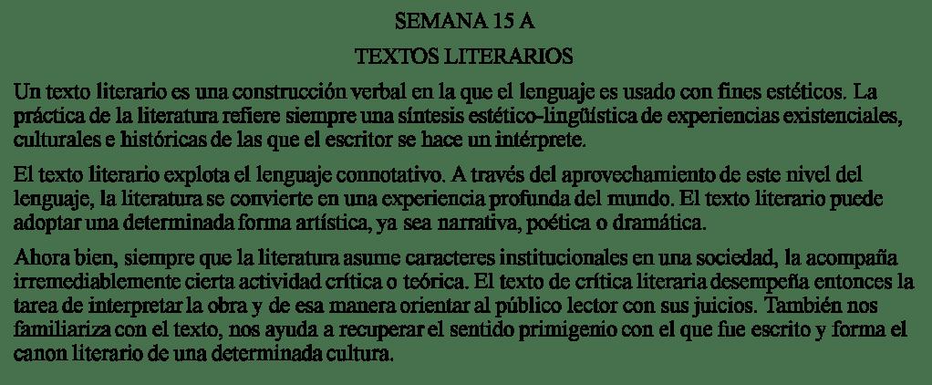 Textos Literarios Pre San Marcos -
