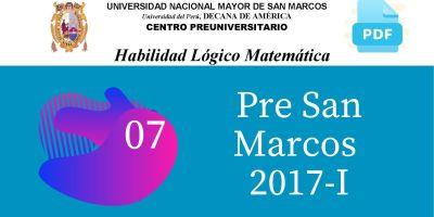 PDF Semana 7 Pre San Marcos 2017-I