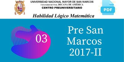 PDF Semana 3 Pre San Marcos 2017-II