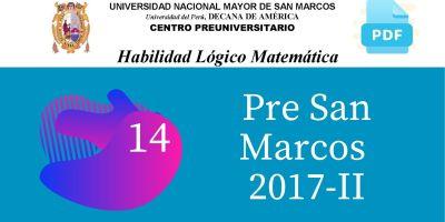 PDF Semana 14 Pre San Marcos 2017-II